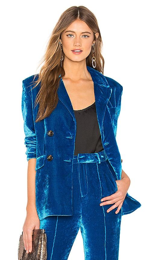 Tiger Lily Velvet Jacket