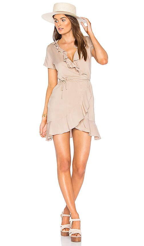 De Lacy Selena Dress in Taupe