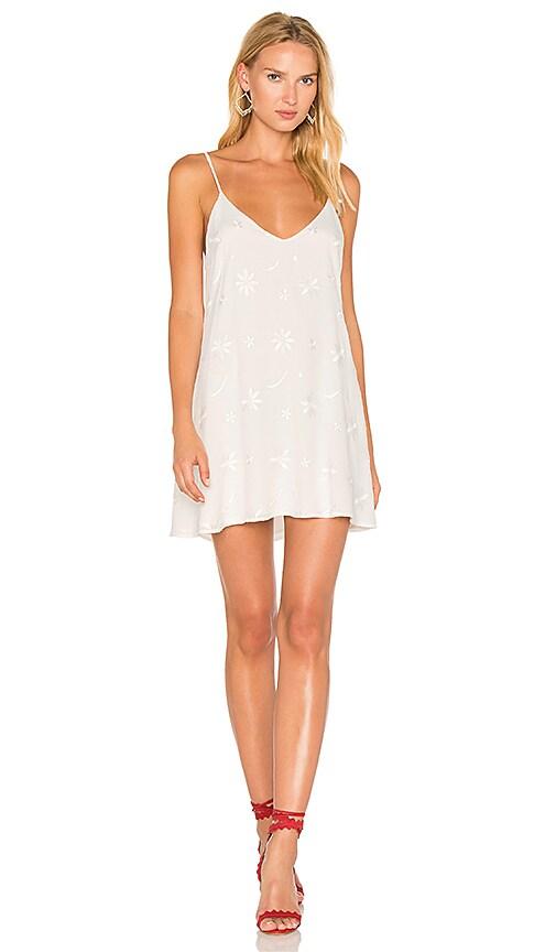 De Lacy Pearl Dress in White