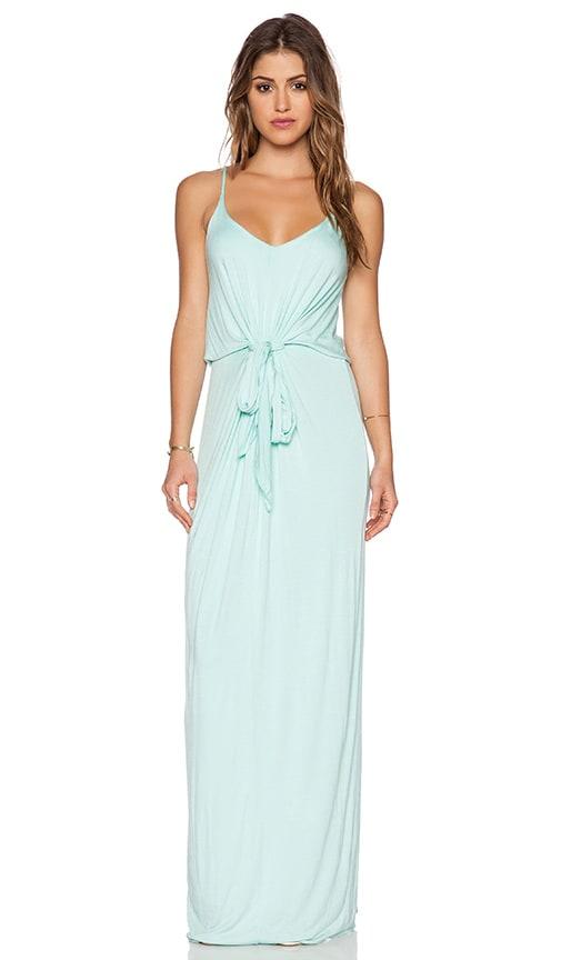 De Lacy Alexandra Maxi Dress in Honeydew