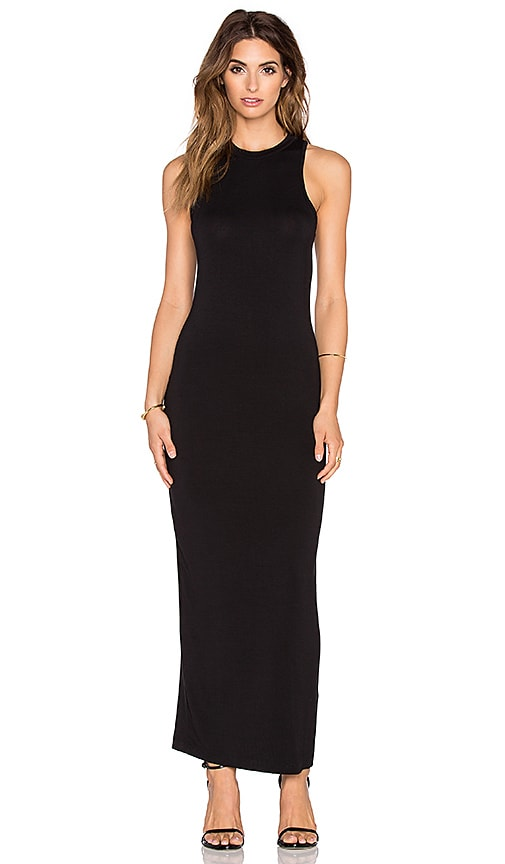 De Lacy Eva Maxi Dress in Black