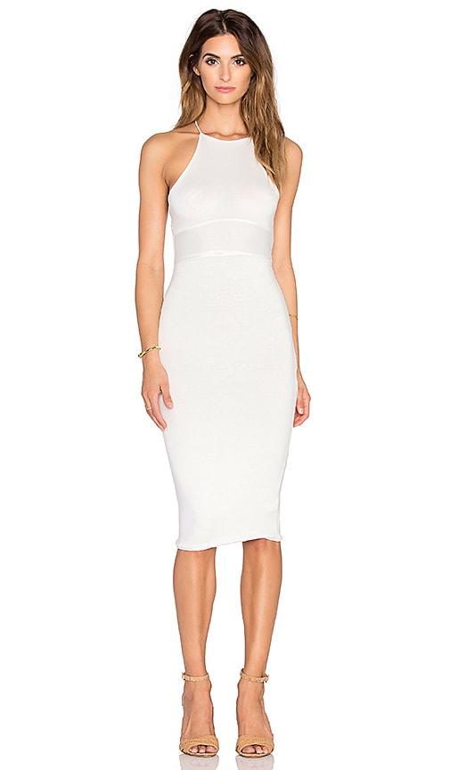 De Lacy Maisey Midi Dress in White