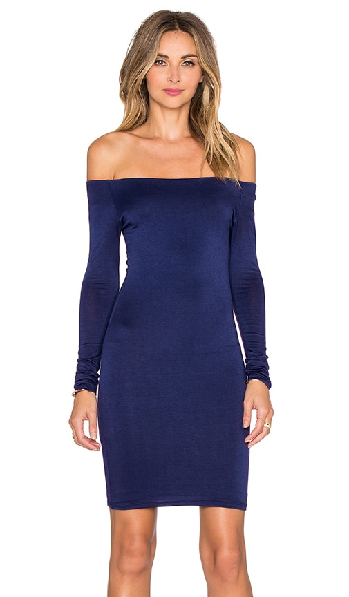 De Lacy Amelia Dress in Navy