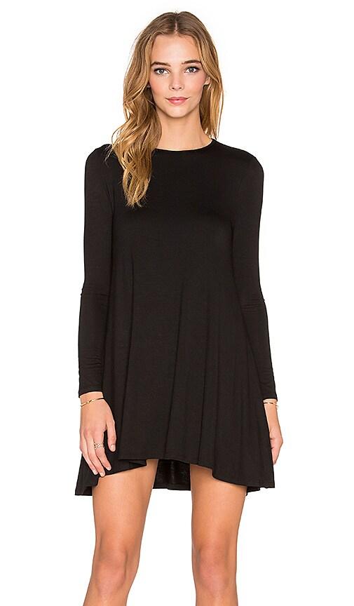 De Lacy Tyler Long Sleeve Dress in Black