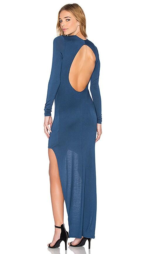 De Lacy Nancy Maxi Dress in Petrol