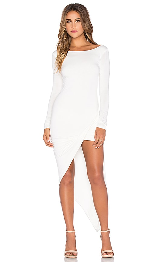 De Lacy Sam Wrap Dress in White