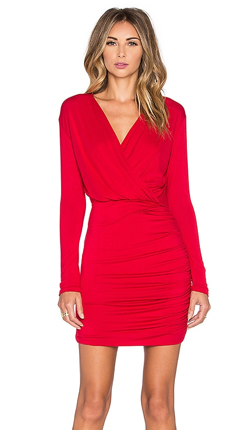 De Lacy Kelsi Dress in Red