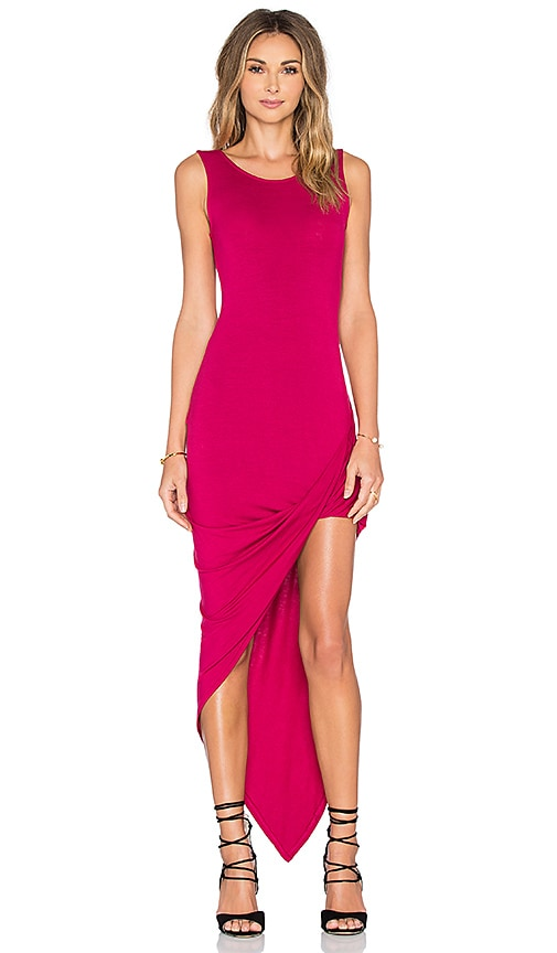De Lacy Dawn Dress in Fuchsia