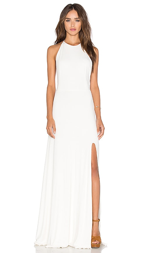 De Lacy Nikki Maxi Dress in White