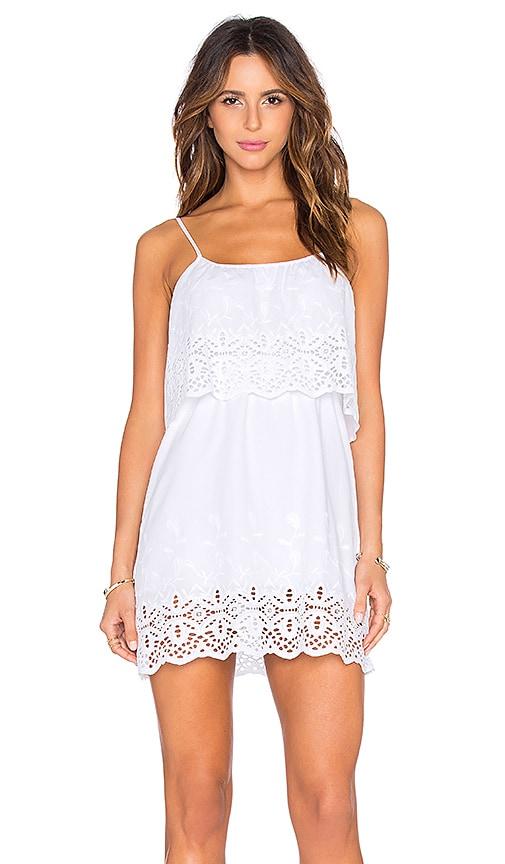 De Lacy Delphine Dress in White