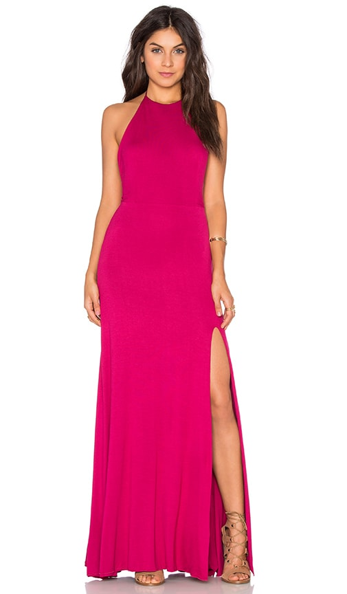 De Lacy Nikki Maxi Dress in Sangria