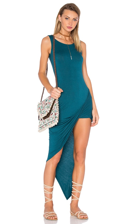 De Lacy Dawn Dress in Teal