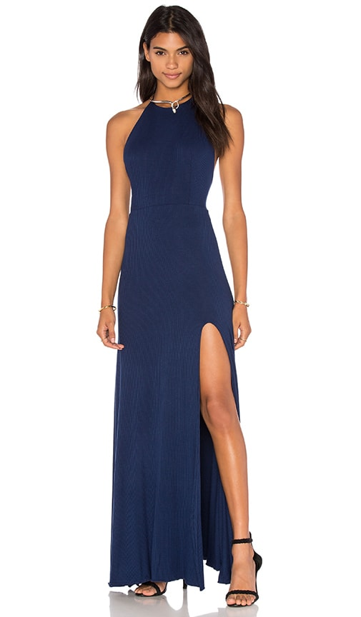 De Lacy Nikki Maxi Dress in Navy