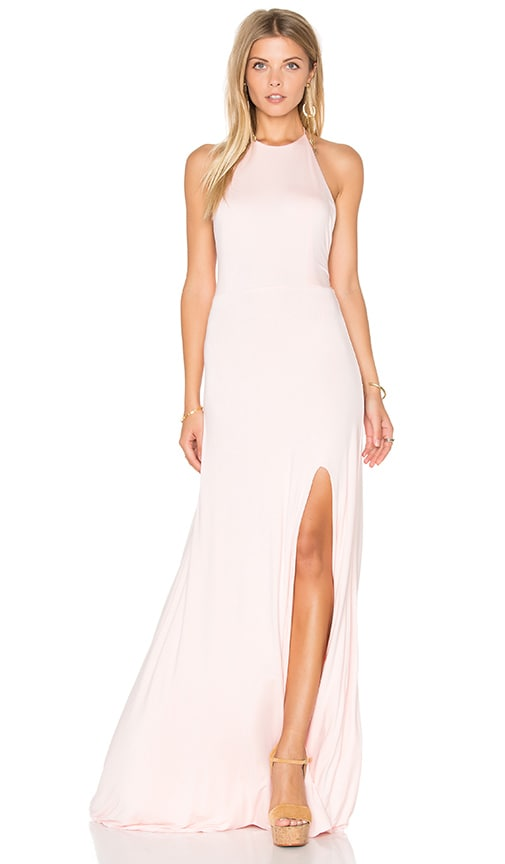 De Lacy Nikki Maxi Dress in Blush