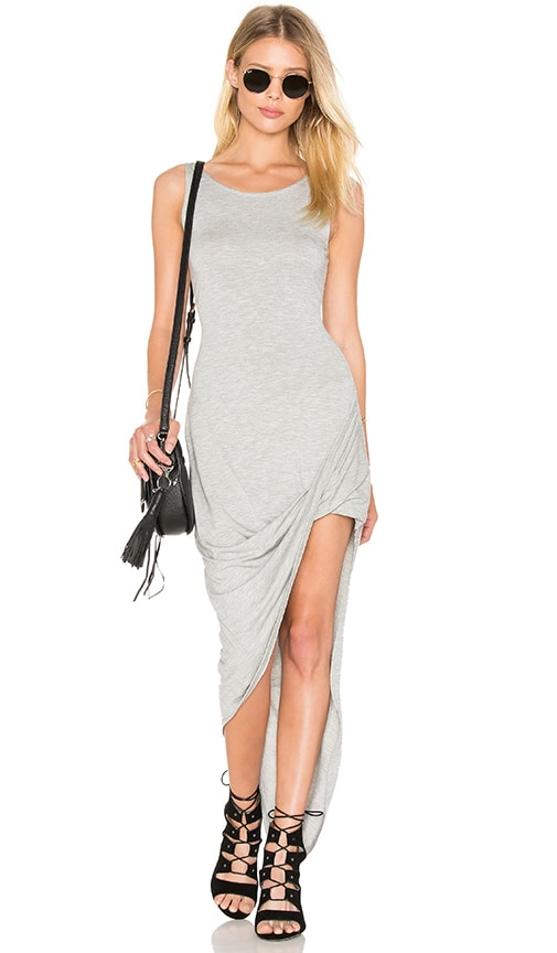 De Lacy Dawn Dress in Heather Grey