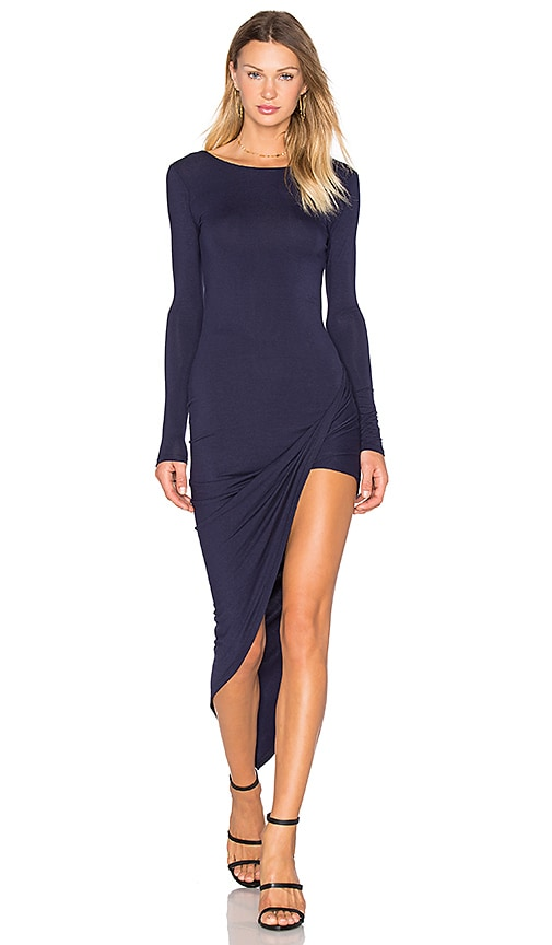 De Lacy Sam Dress in Navy