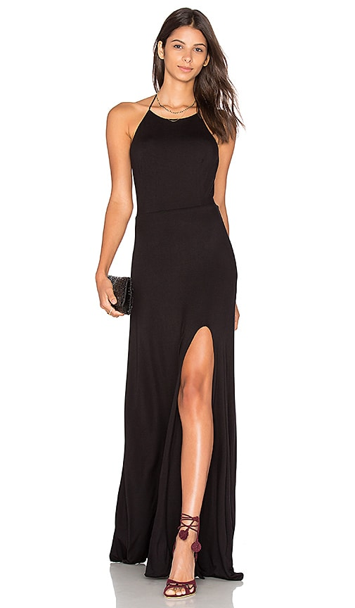 De Lacy Nikki Maxi Dress in Black