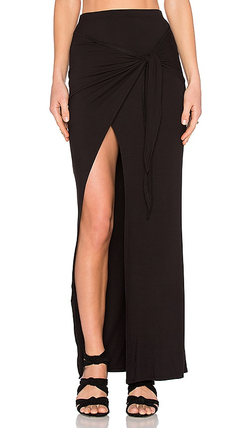 De Lacy Monica Maxi Skirt in Black