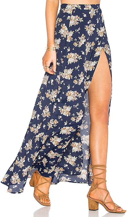 De Lacy Quinn Skirt in Blue