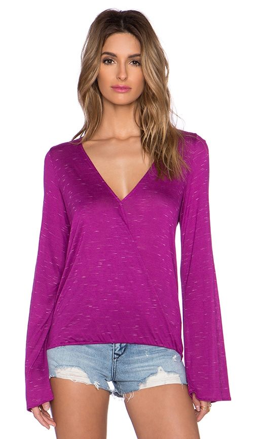 De Lacy Adele Top in Fuchsia