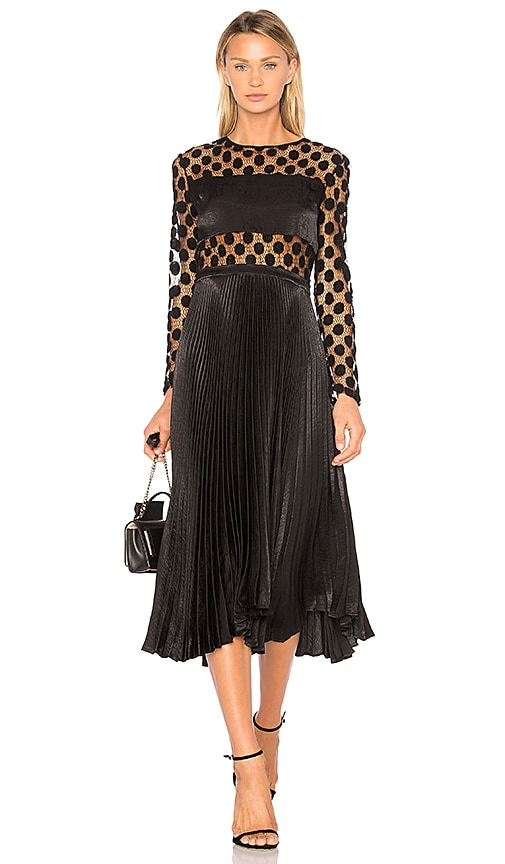 DELFI Angela Dress in Black
