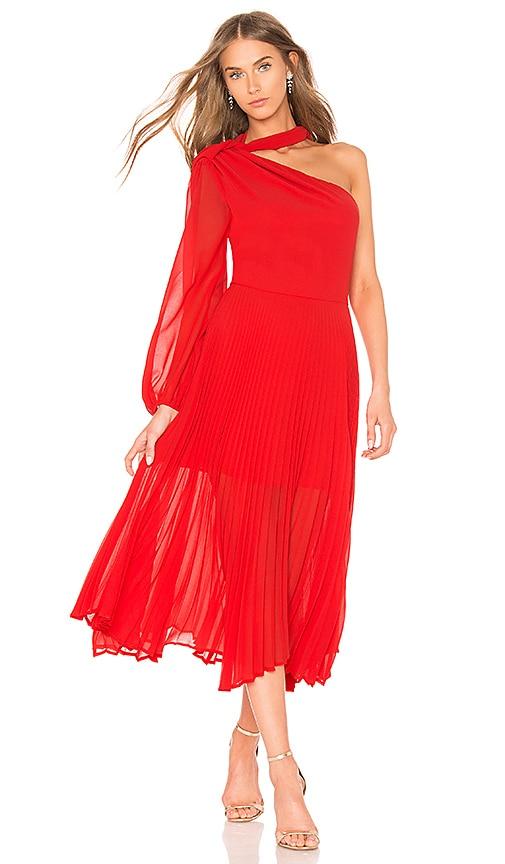 DELFI Gia Dress in Red