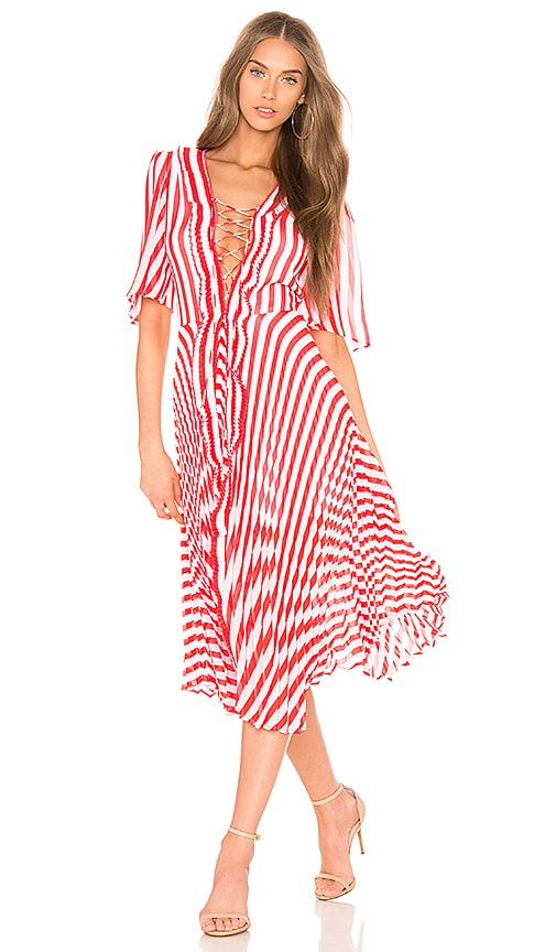 DELFI Gwen Dress in Red