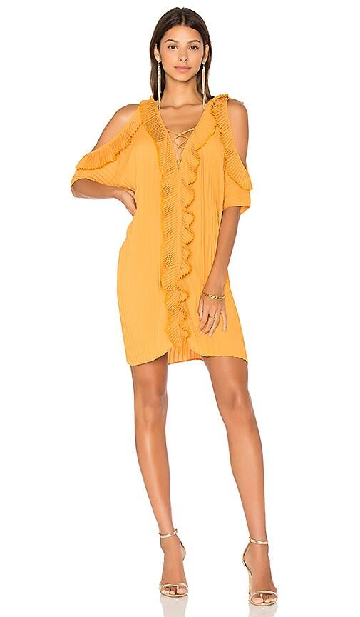 DELFI Gloria Dress in Orange
