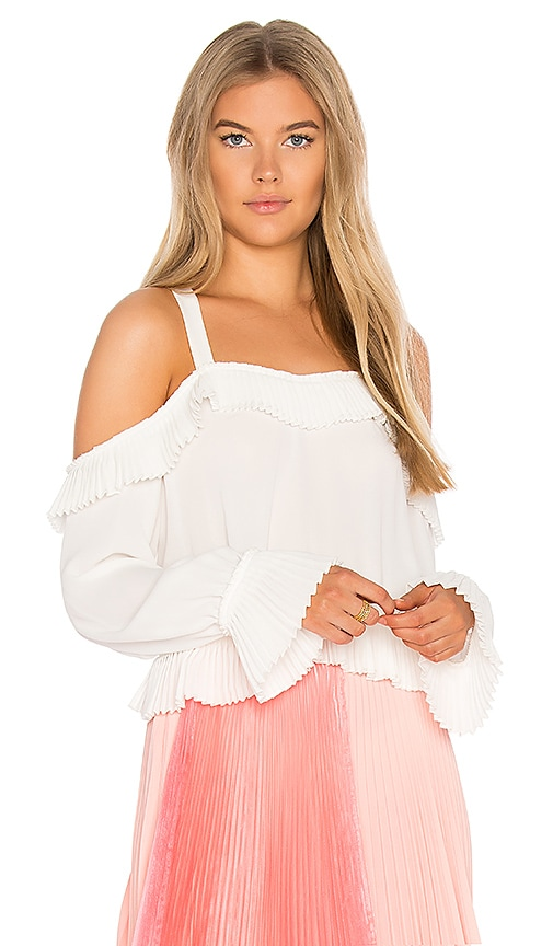 DELFI Brit Top in White