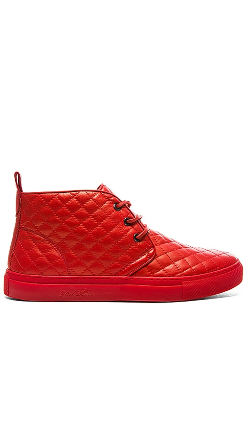 Quilted Leather Chukka