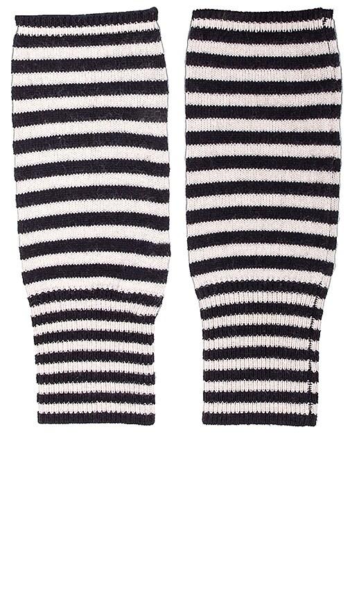 Cashmere Stripe Wrist Warmer