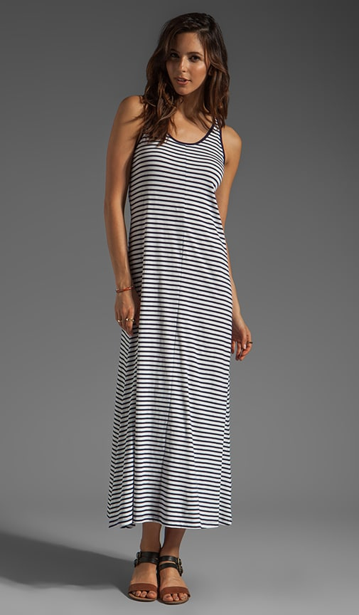 Karis Sailor Stripe Maxi Dress