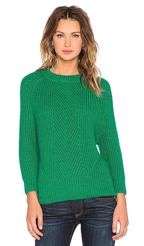 DemyLee Chelsea Sweater in Kelly Green