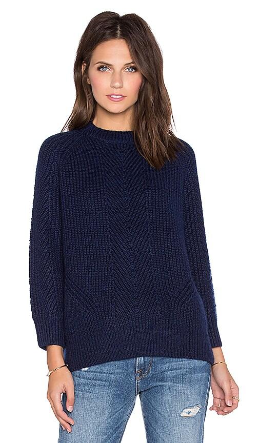 DemyLee Chelsea Sweater in Navy