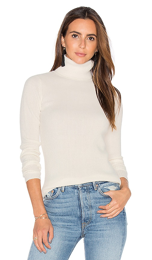DemyLee Ginny Turtleneck Sweater in Ivory