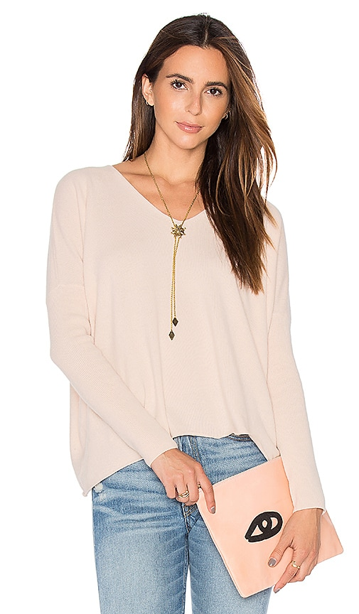 DemyLee Florence Sweater in Blush