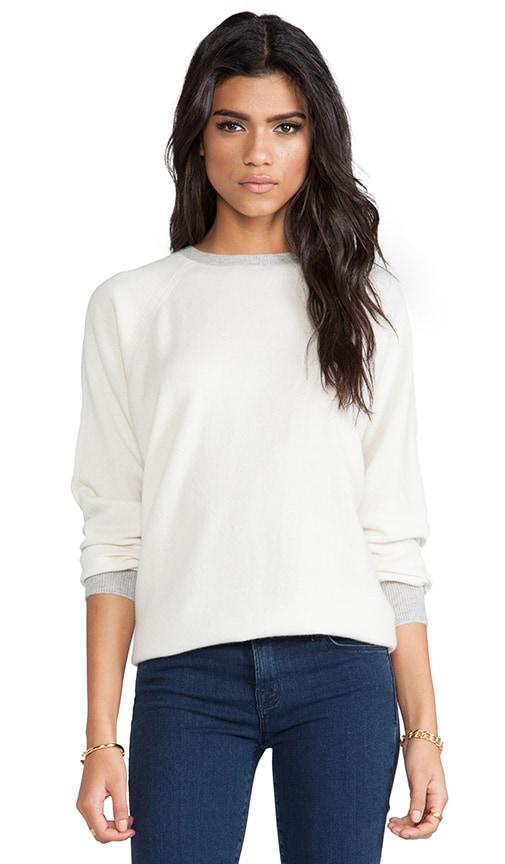 Finn Cashmere Colorblock Pullover