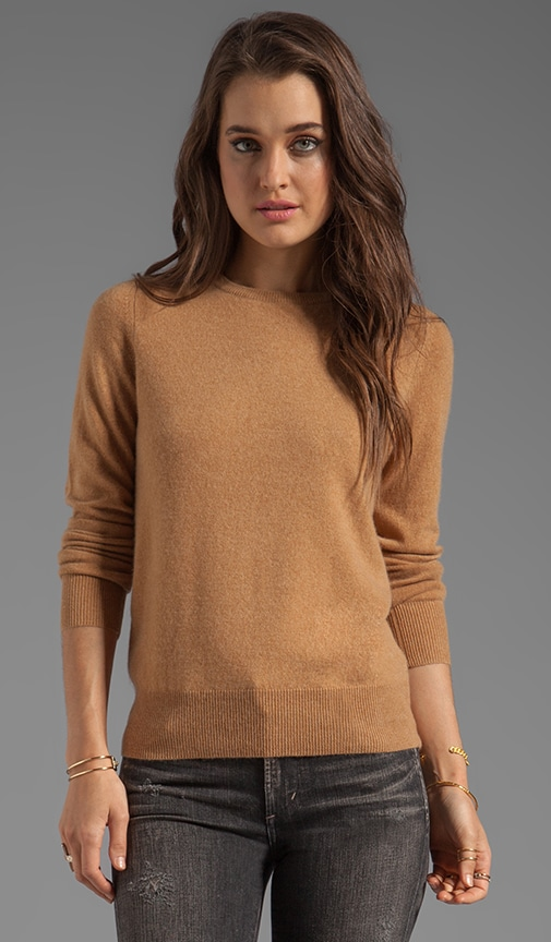 Joie Cashmere Elbow Patch Sweater