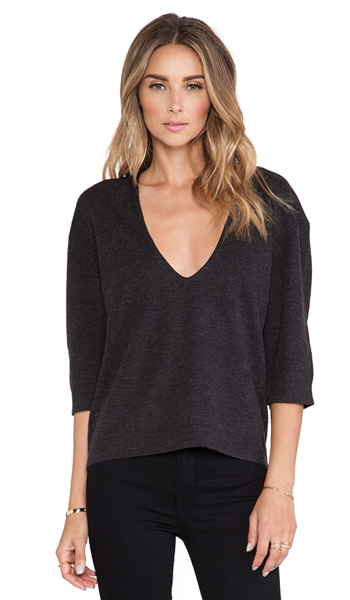 Lexis Low Back Short Sleeve Sweater