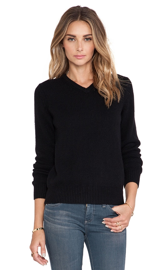 Morgan V Neck Cashmere Sweater