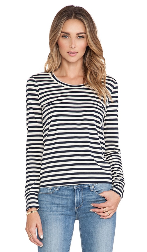 Stripe Dani Long Sleeve Tee