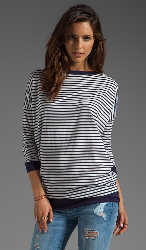 Charlie Sailor Stripe Long Sleeve Top