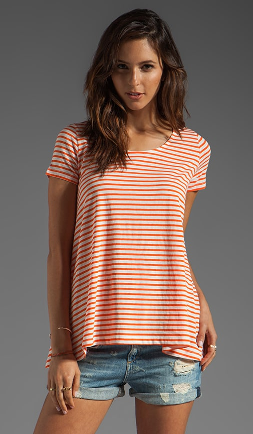 Hudson Sailor Stripe Top
