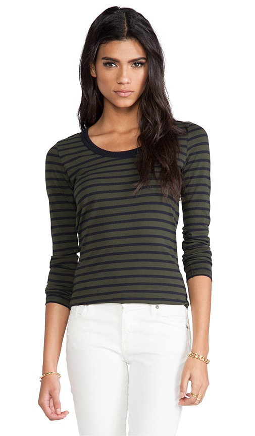 Stripe Parker Long Sleeve