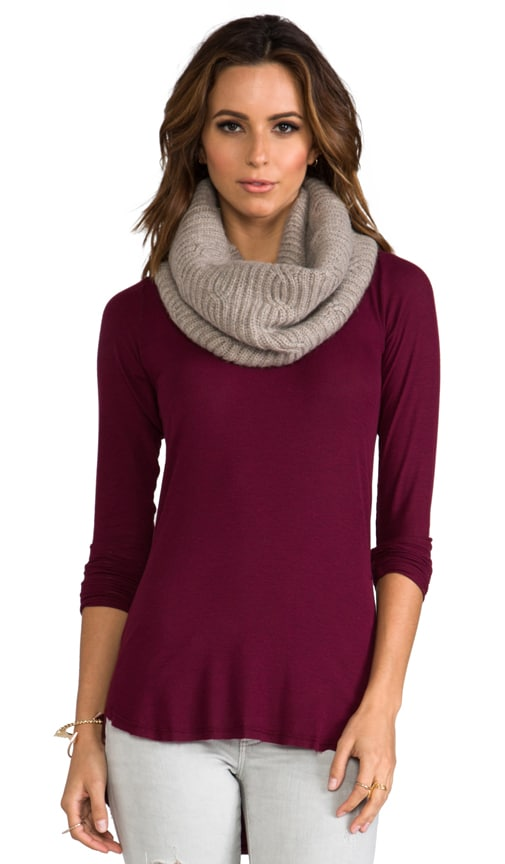 Cashmere Cable Eternity Scarf