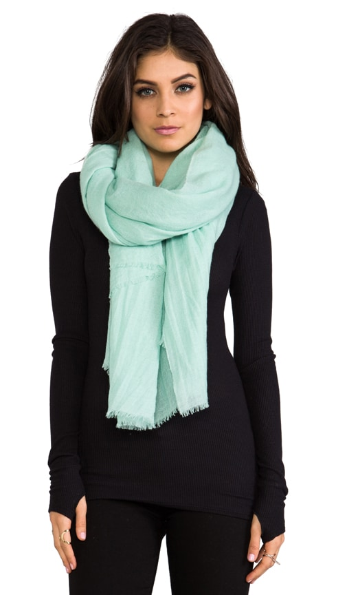 Solid Woven Gauze Scarf