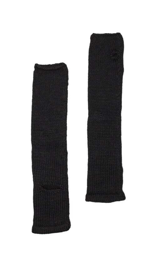 Armwarmers with Elbow Slits