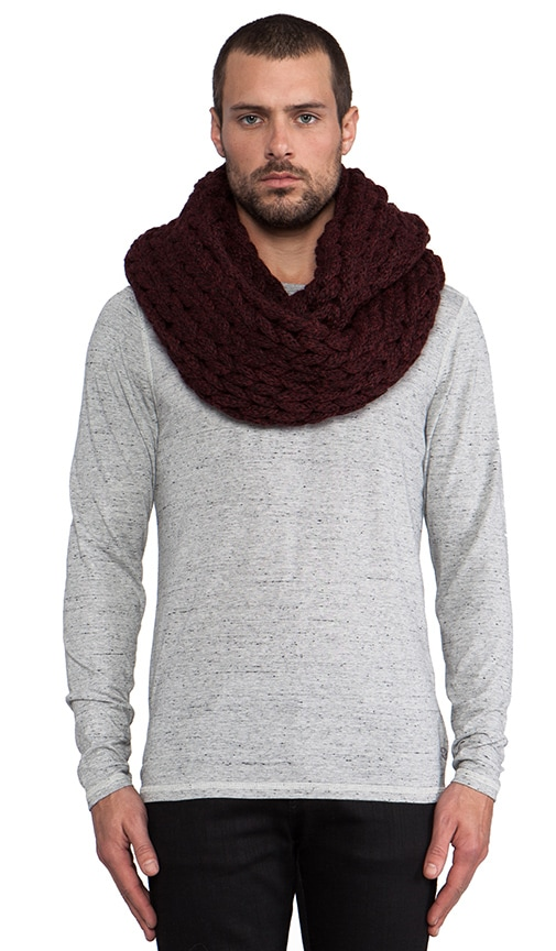 Large Knit Infinity