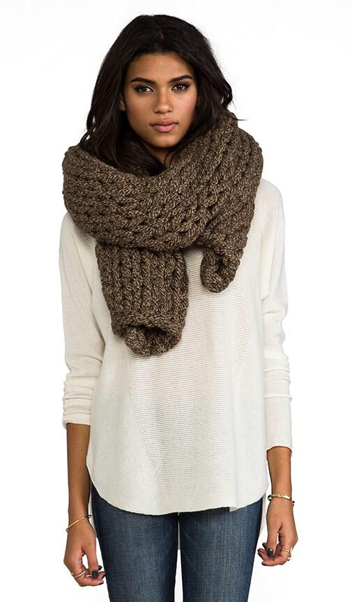 Large Knit Shawl