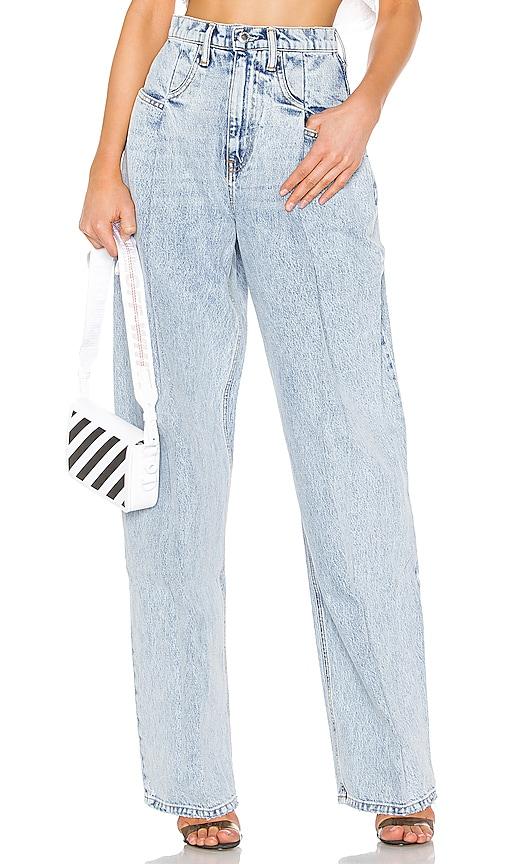 Brace Pleated Jean